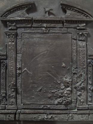 Estudio para un retablo de la putrefacción (relieve)