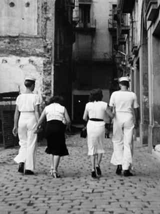 """""""Visita al barrio chino"""". 1952."""