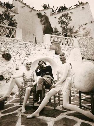 """""""Dalí con las musas"""". 1966."""