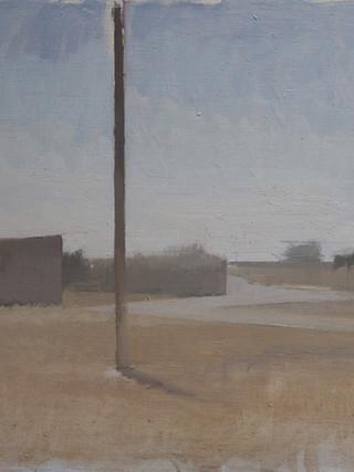 "ILYA GEFTER (San Petesburgo, 1980)""Paisaje. Contrajour"" (2015). Óleo sobre lienzo, 50x60 cm."