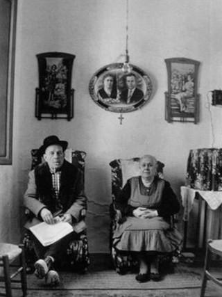 Matrimonio, Mojacar. 1963.