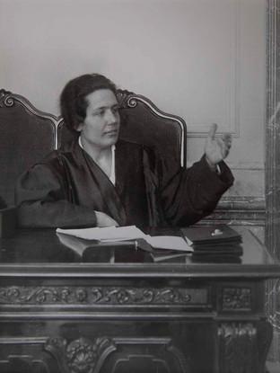 Retrato de Victoria Kent. 1915