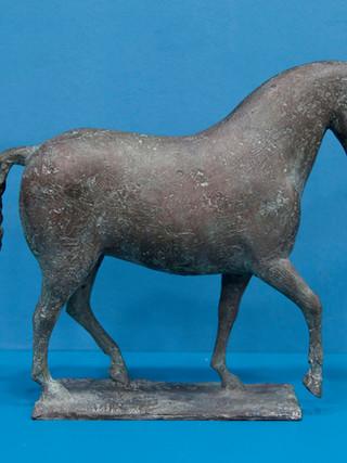 """Antonio Campillo Párraga (Murcia, 1926 – 2009) """"Caballo"""". 1985. Bronce. Altura 34 cms."""