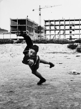 Niño, Barcelona. Hacia 1960.