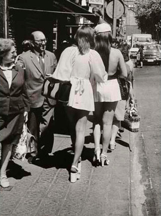 """Minifaldas"". 1972."