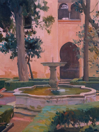 Patio de Lindaraja, Alhambra