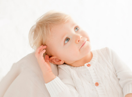 Petit Robinson - séance bébé au studio