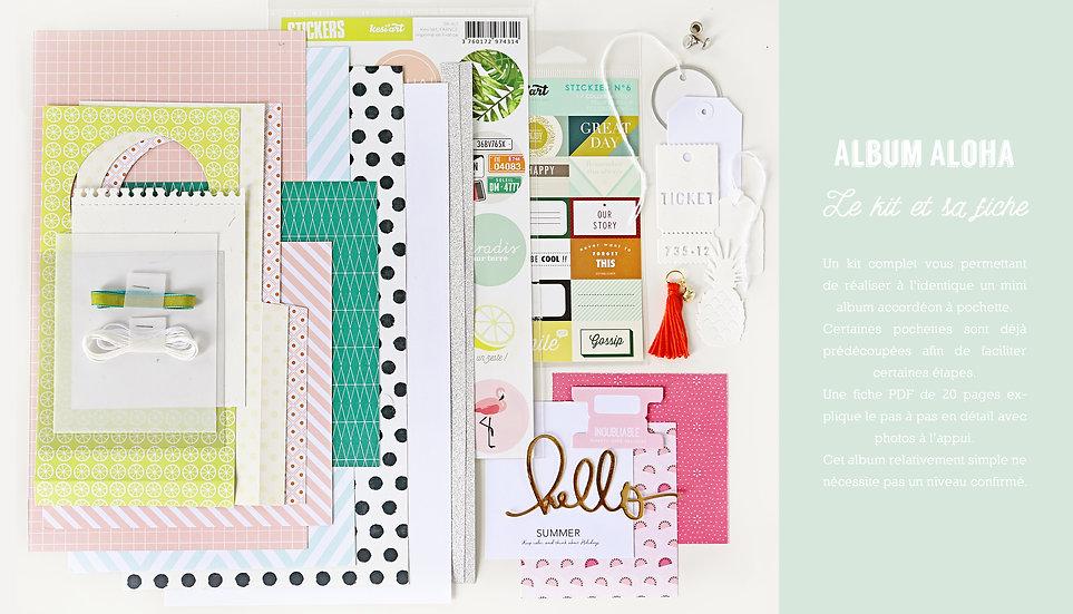 Kit mini album ALOHA