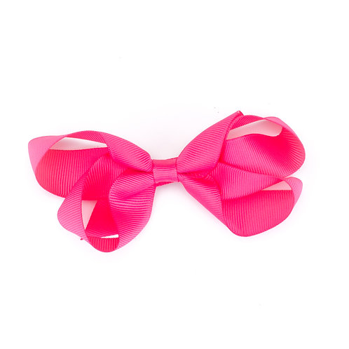 Loopy Bow Hot Pink