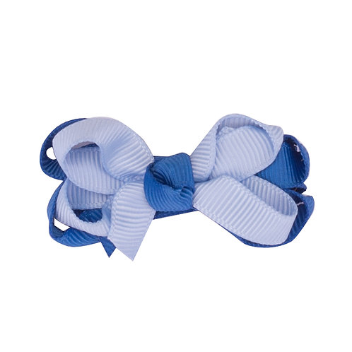 Colour Duo Bow Blueberry