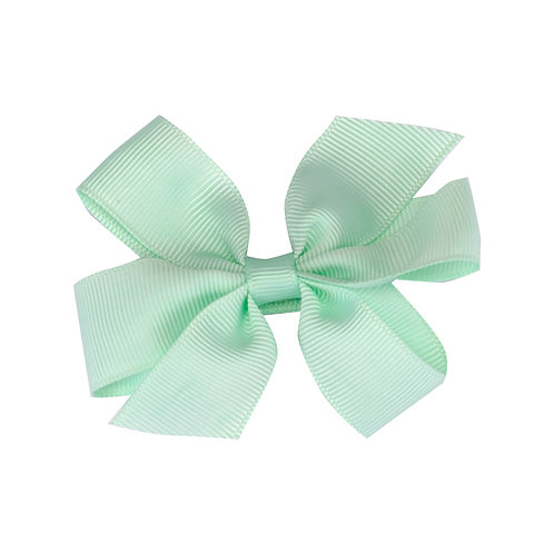 Pinwheel Bows Mint Choc Chip