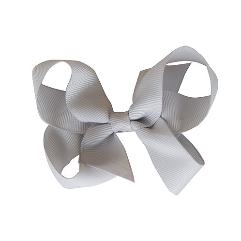 Loopy Bow Silver