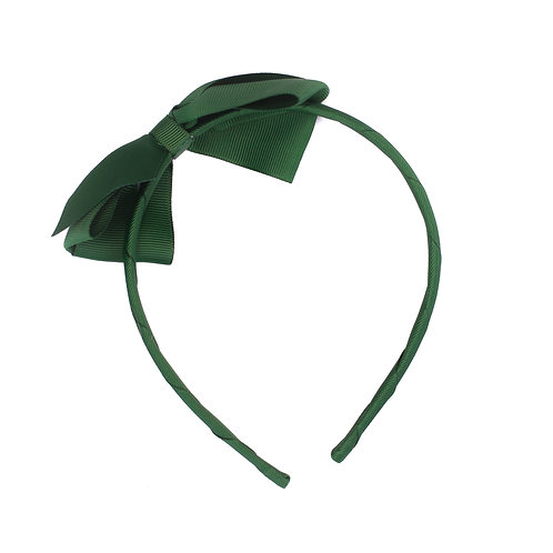 Large Bow Headband Holly