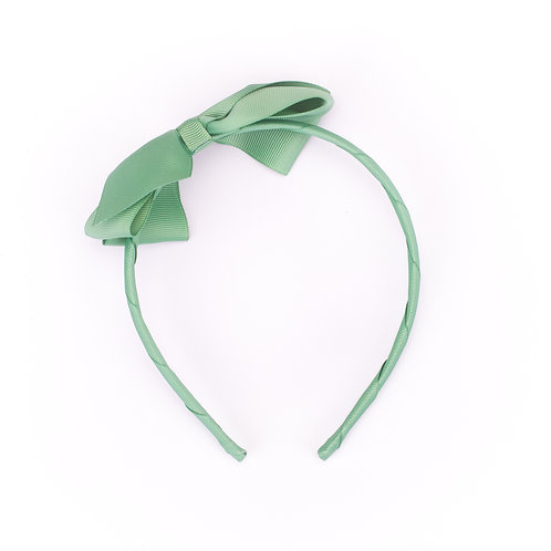 Large Bow Headband Sage