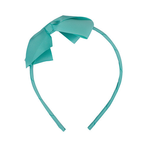 Large Bow Headband Tropic