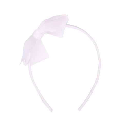 Large Bow Headband Cloud