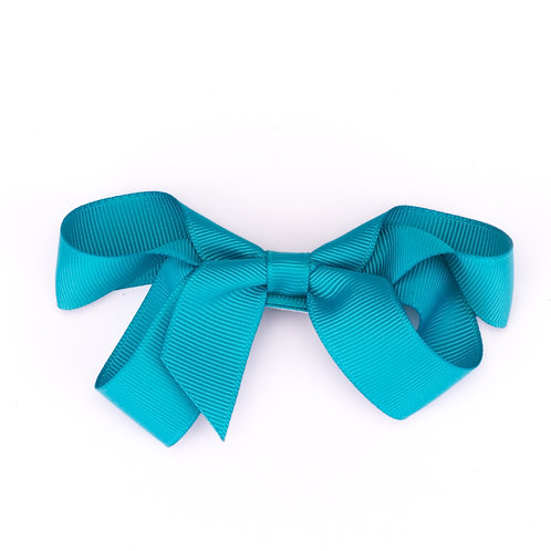 Loopy Bow Teal