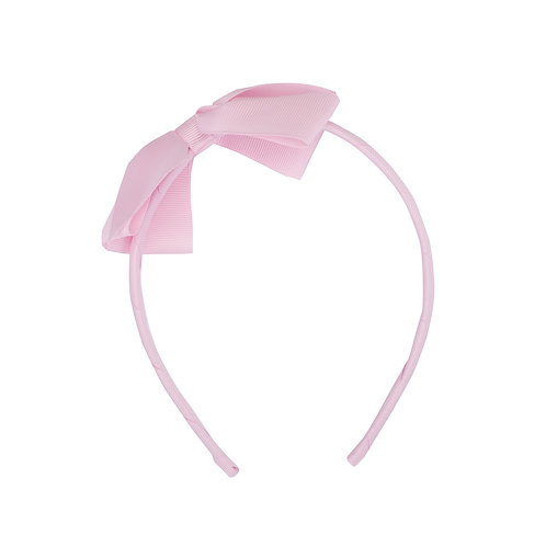 Large Bow Headband Fairy Floss