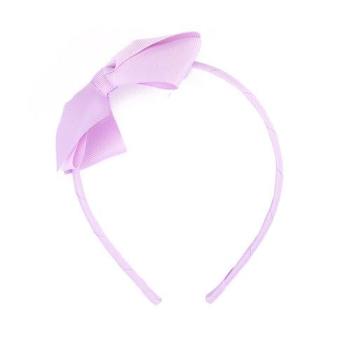 Large Bow Headband Orchid