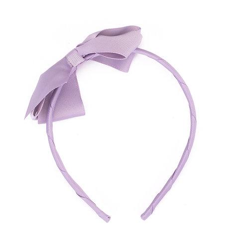 Large Bow Headband Delphinium