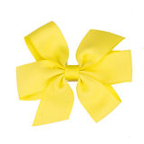 Lemon Sherbet Large Hair Bow