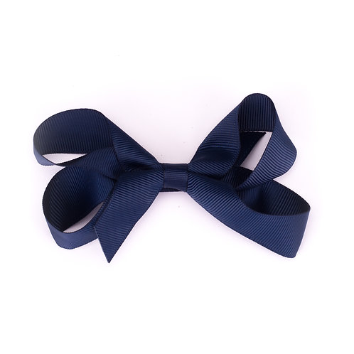 Loopy Bow Teal Midnight