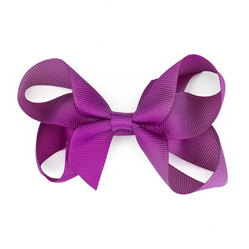 Loopy Bow Violet