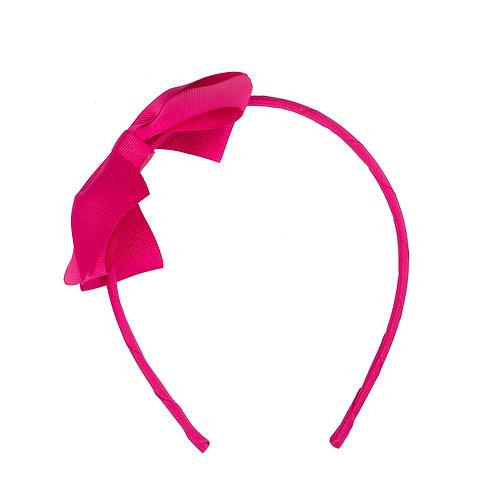 Large Bow Headband Azalea