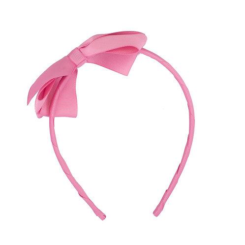Large Bow Headband Peony