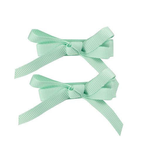 Skinny Minnie Bows Mint Choc Chip