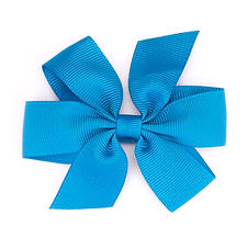 Bow Azure Large Pinwheel Hair Bow