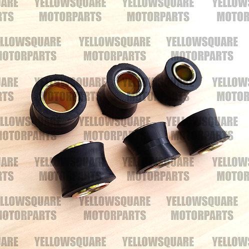 Motorcycle Shock Absorber Bush Kit 2x 10mm 12mm 14mm Bushes Shocks Motorbike