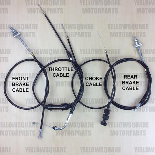Yamaha PW50 Full Cable Set (1981-2017) Piwi PW 50