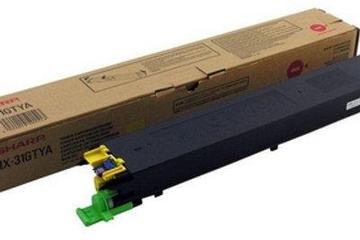 Original Sharp MX31GTYA Yellow Toner