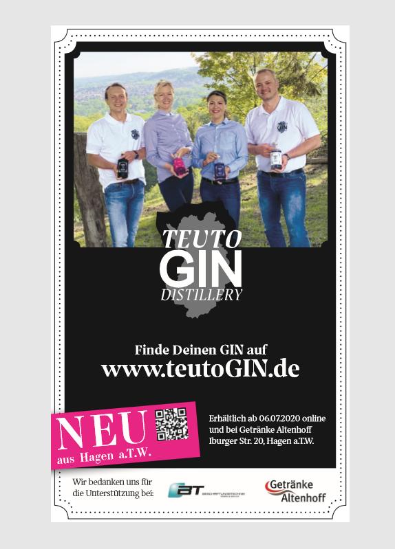 Christina Schwierz, Daniel Frenkel, TeutoGIN Hagen am Teutoburger Wald