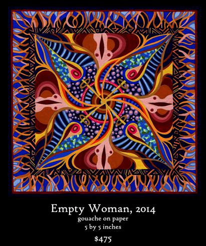 Empty Woman Mandala