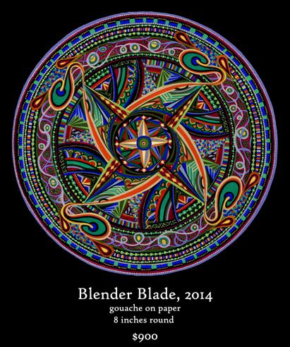 Blender Blade Mandala
