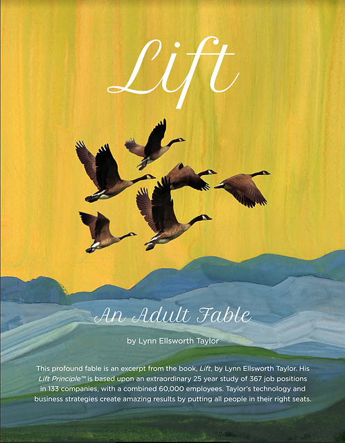 The Lift Fable (43 Pages eBook)