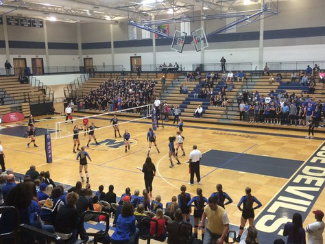 Walton is final mental block for South Forsyth volleyball