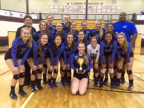 South, Lambert take top two spots in Area tournament