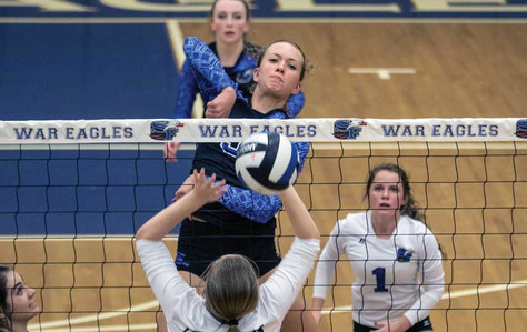 South Forsyth volleyball clicking in second round win against Pope