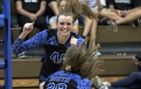 South Forsyth volleyball meets familiar foe in state semifinals