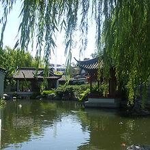 Asian Water Garden
