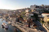 View of Porto from D. Luis Bridge