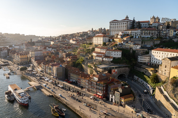 View of Porto from D. Luis Bridge
