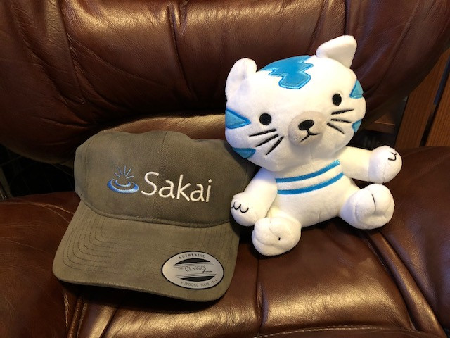 Sakaiger Cap and Stuffed Sakaiger