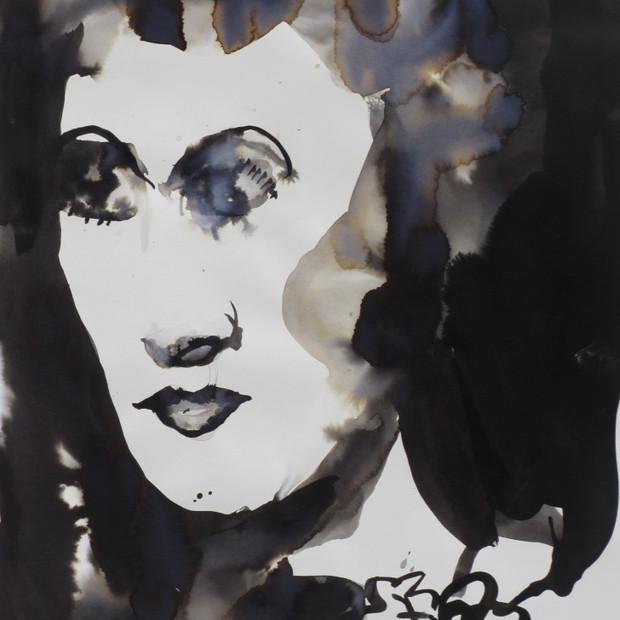 G.K.  Ink on Paper 42 x 60 cm
