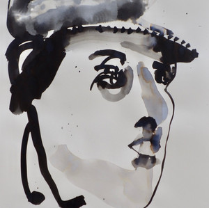 E.V.B. IV Ink on Paper 42 x 60 cm