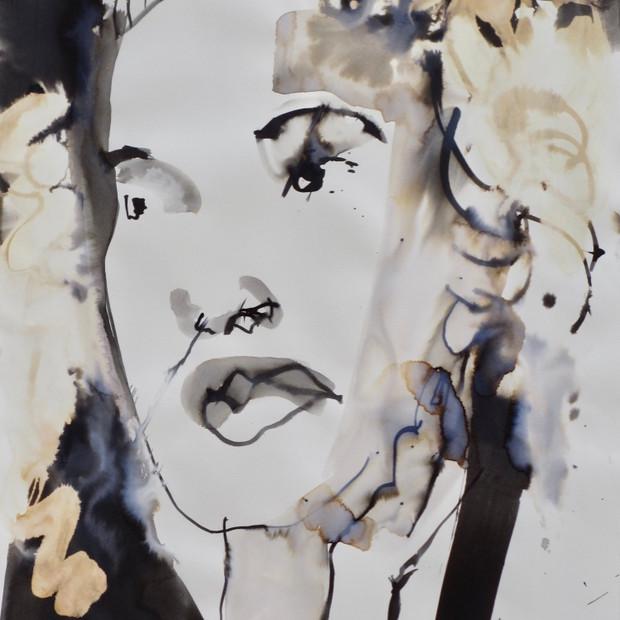 Greta II Ink on Paper 42 x 60 cm