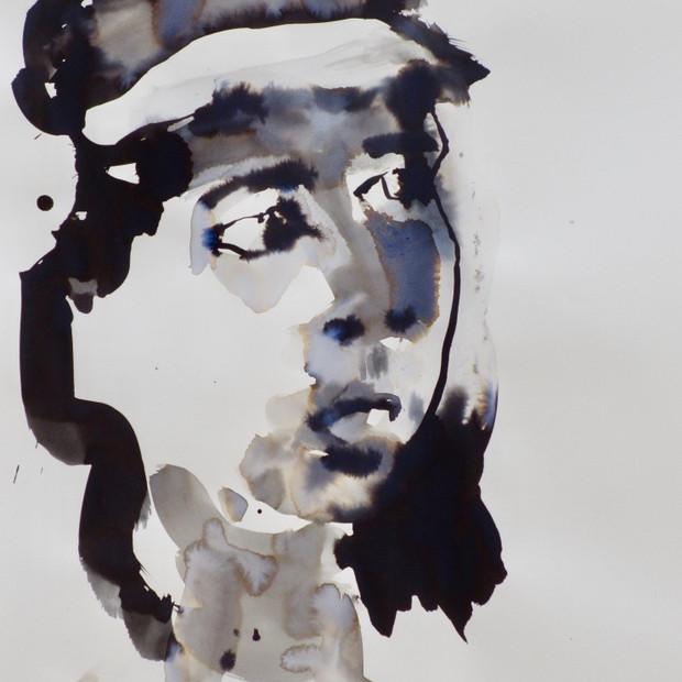 E.V.B. II Ink on Paper  42 x 60 cm